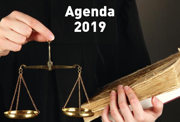 Agenda 2019 Droit, justice et justiciables en région Auvergne-Rhône-Alpes